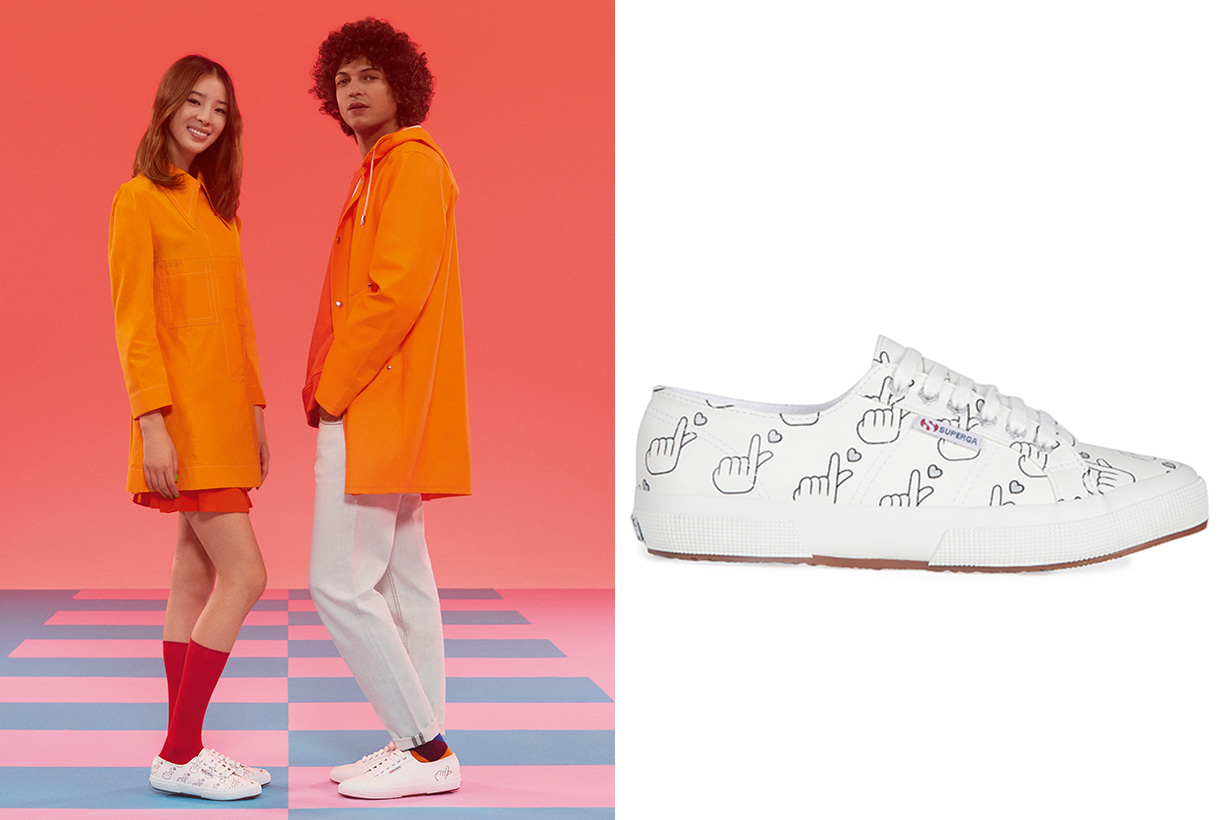 YOOX X Superga couples shoes collection