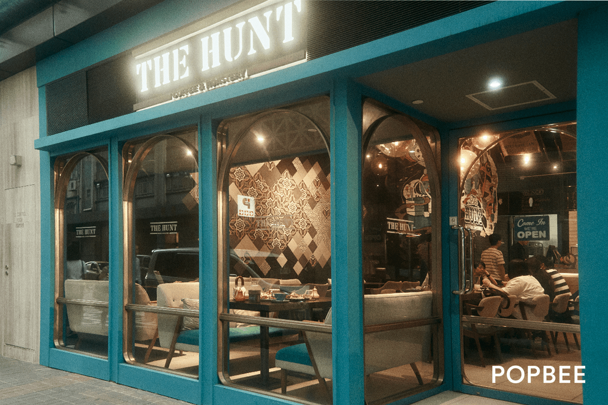 The Hunt Coffee & Roastery in Kwun Tong Hong Kong