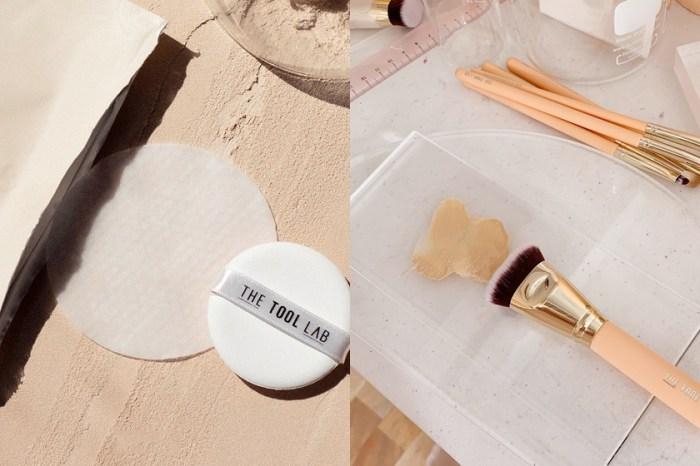 韓國、日本女生好評不斷:專業刷具品牌 The Tool Lab 推出了每日清潔濕巾!