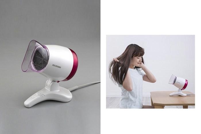 懶人救星:日本這一台「放桌上」吹風機,超方便不用手拿設計引起熱議!