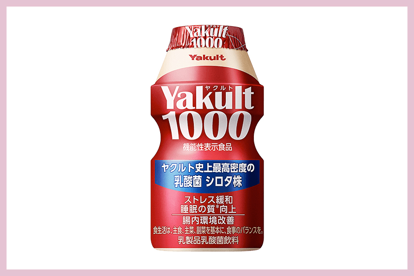 yakult 1000 sleeping well japan drink