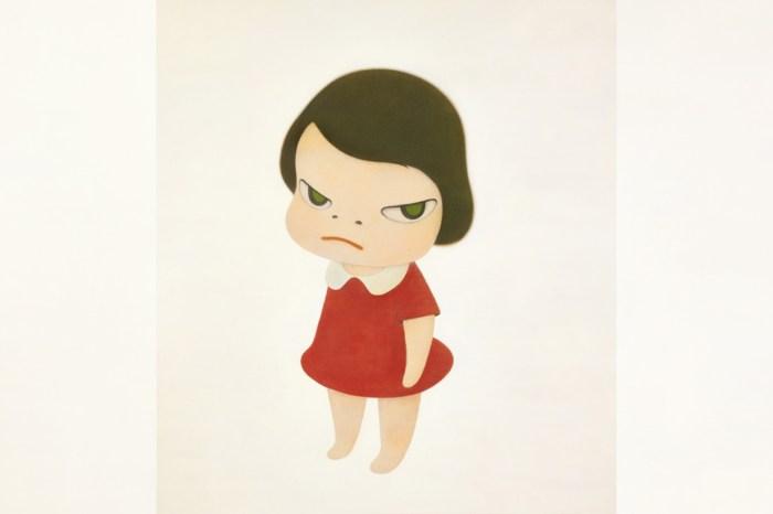 超越草間彌生:奈良美智最大畫作《背後藏刀》,以 1.95 億港幣破紀錄成交!