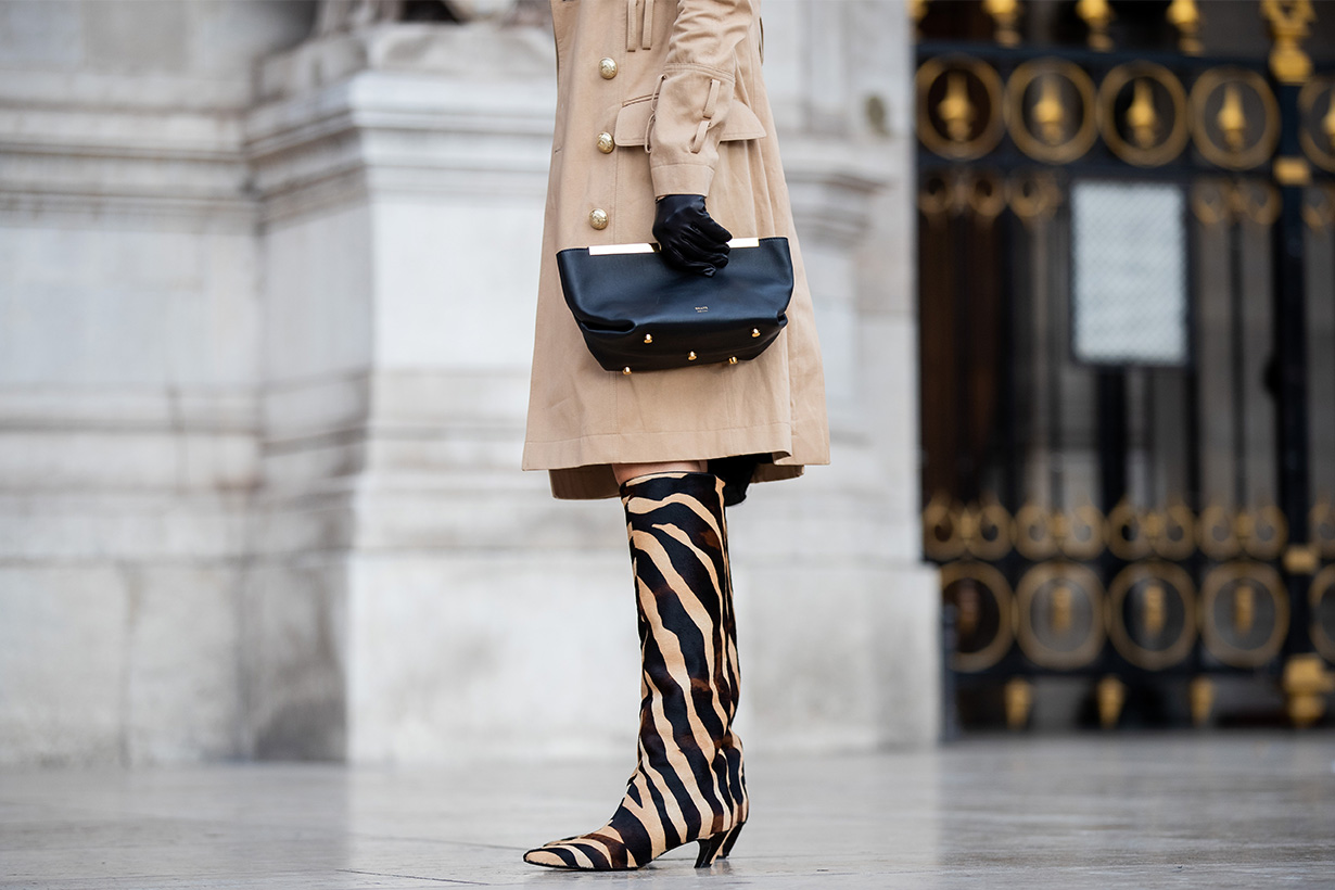 Zebra Printed items street style for fall 2019