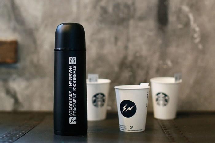 優美神秘黑:fragment design 再度合作 Starbucks 推出質感保溫瓶!