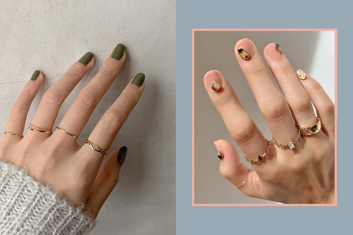 2019 fall Nail Art Trend Idea 15