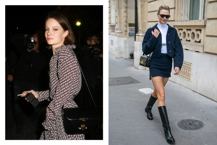 模特兒、法國女星都愛用中:Celine 這款復古手袋已經成為名人間的 It Bag!