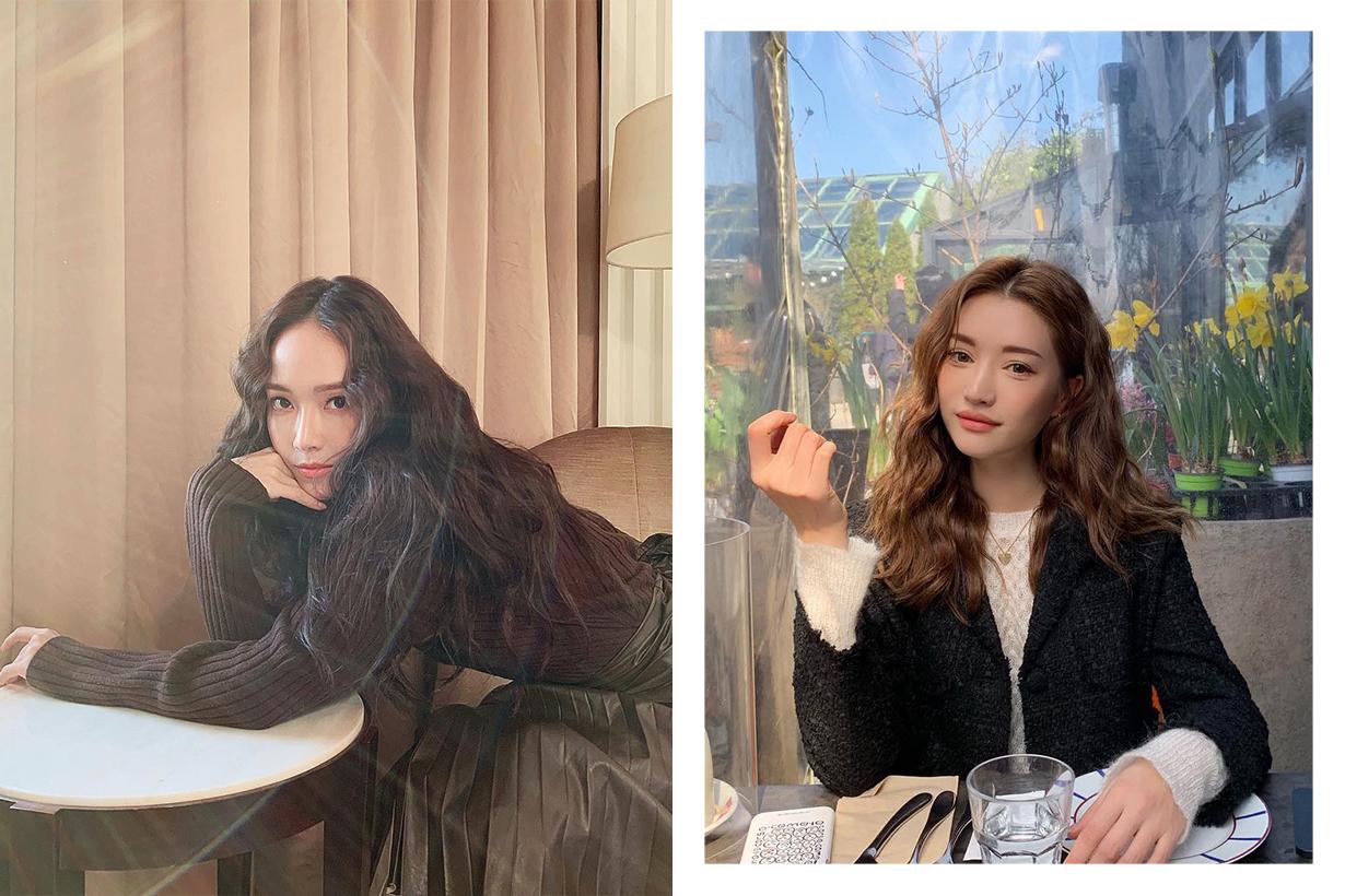 Korean Style Wavy Curly Hair Tips