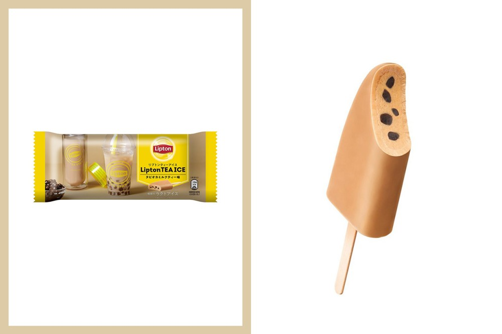 Lipton Ice Bubble Tea Tapioca Ice Cream