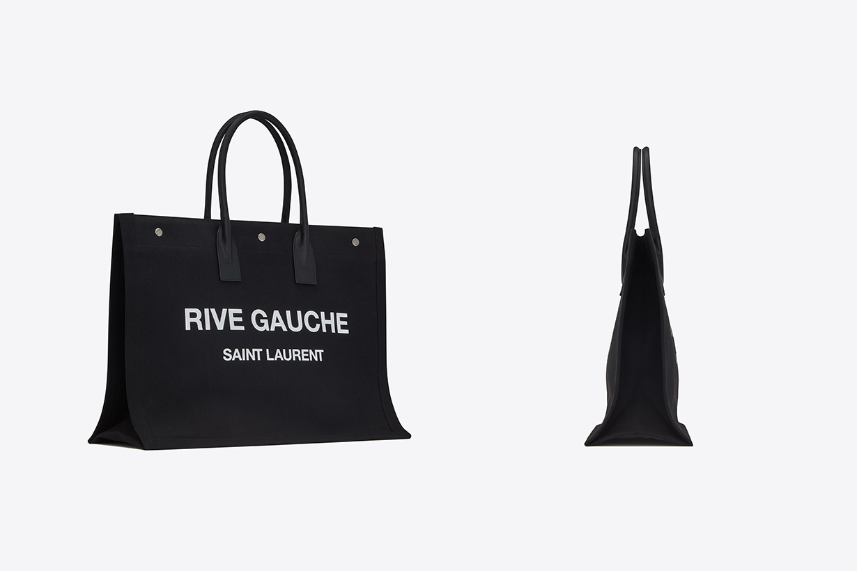 Saint Laurent Logo Tote Bag