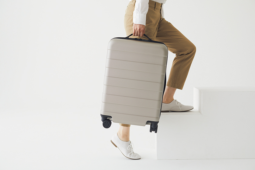 MUJI travel luggage