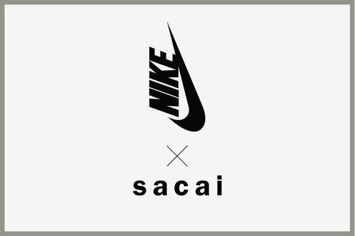 最強聯名即將再度登場:sacai x Nike 極簡黑白鞋款樣貌、發售日期陸續曝光!