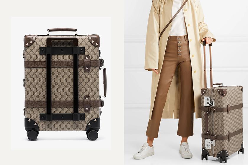 Gucci GG Monogram Globetrotter suitcase