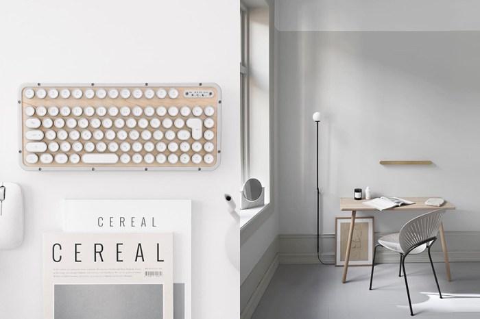 最療癒的辦公室小物:充滿復古感的打字機鍵盤,讓你找回舊時代的感動!