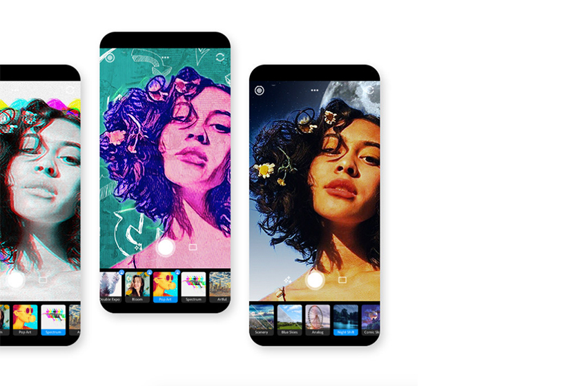 adobe photoshop camera phone app editing features release