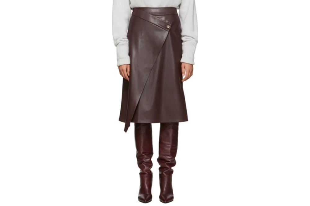 Áeron Purple Nola Wrap Skirt