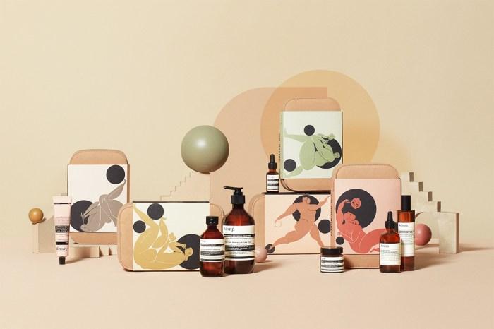 以希臘繆思女神為設計概念,Aesop 2019 年度禮盒系列剛推出就成為熱話!