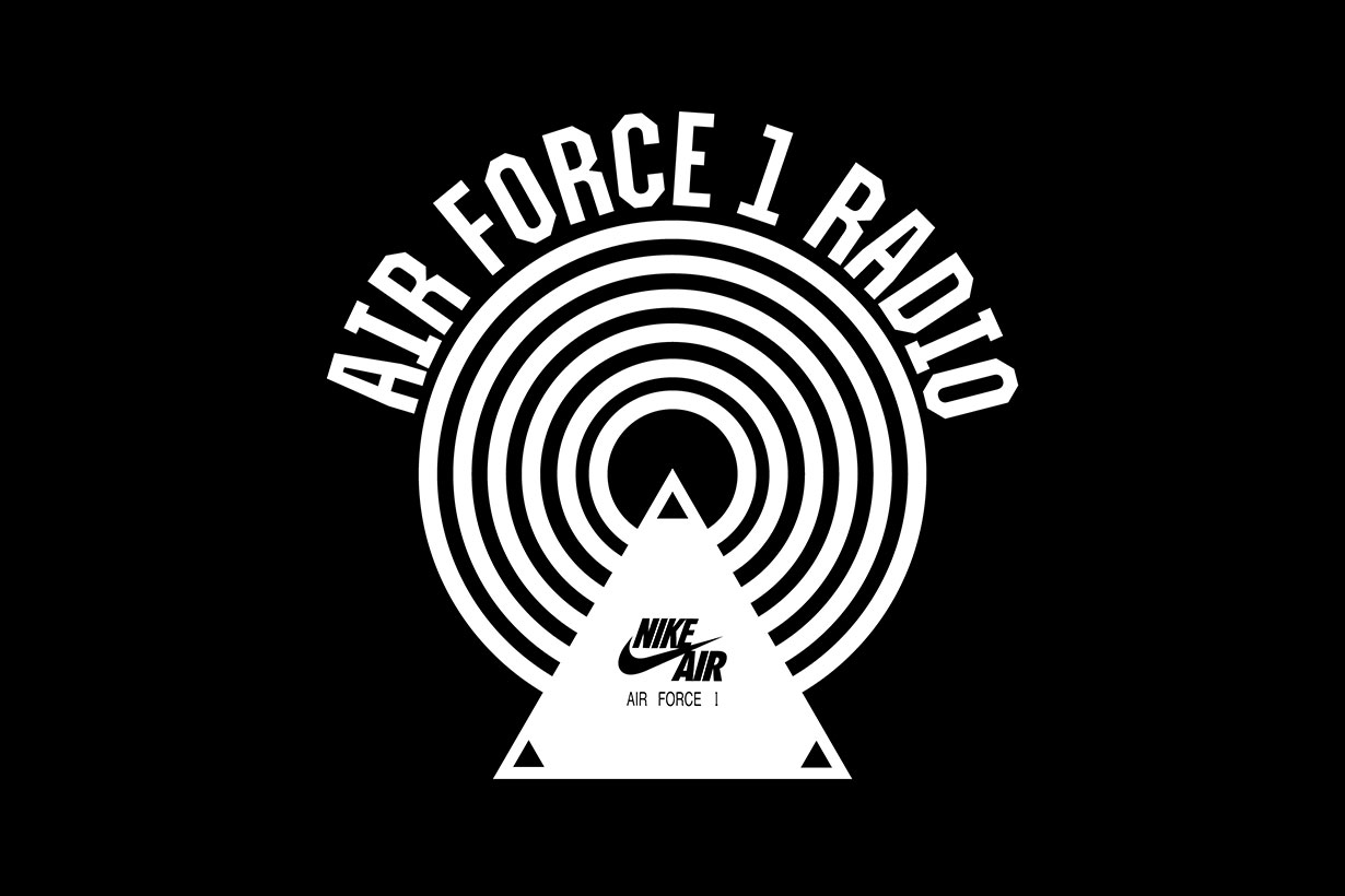 Nike Air Force 1 Radio 2019
