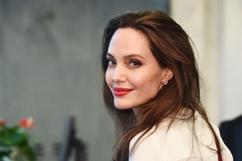 Angelina Jolie harper's bazaar January 2020 cover