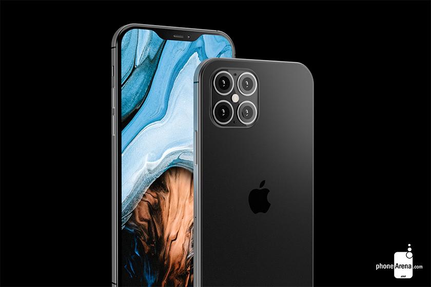apple iphone 12 design rumor 4 camera ToF Phone Arena