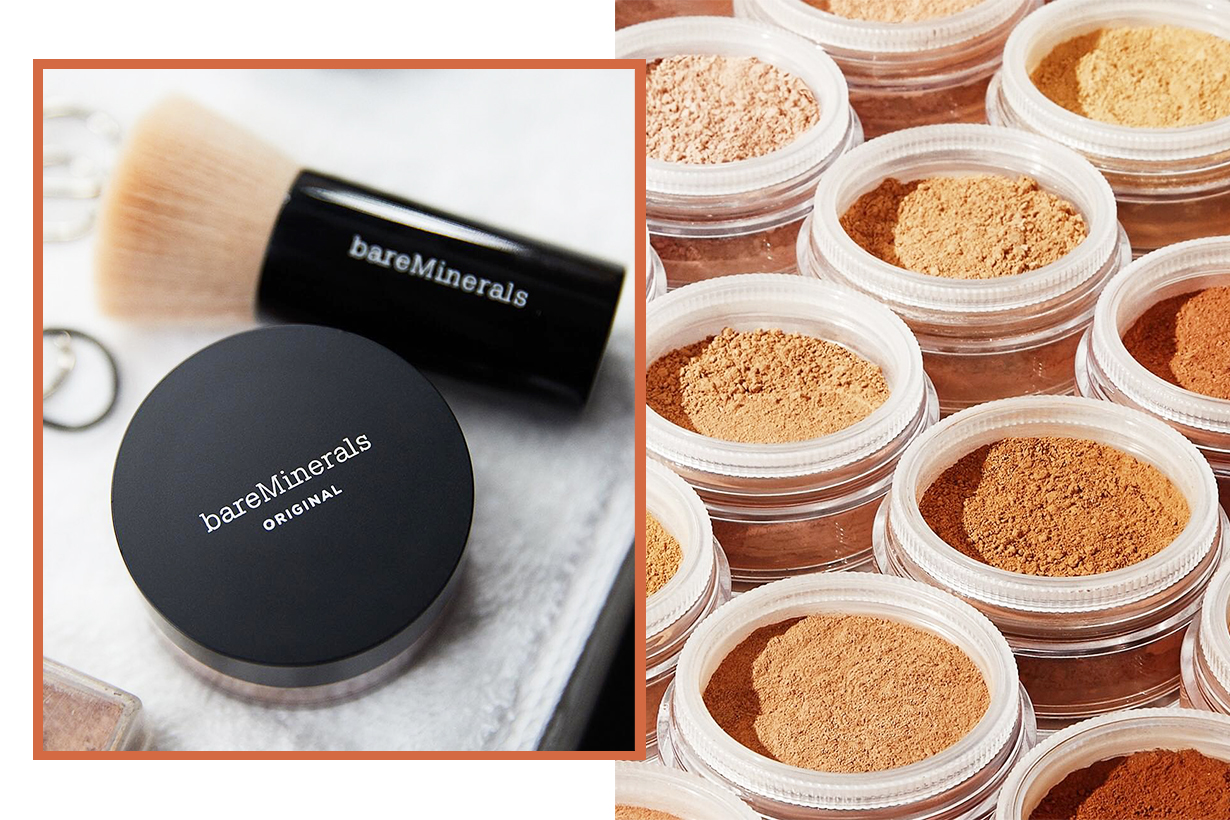 Bare Minerals Original Foundation Broad Spectrum SPF 15 mineral-based loose powder foundation dry skin oily skin makeup free cosmetics makeup