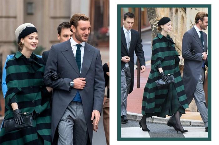 時尚氣質不輸凱特!摩納哥王妃 Beatrice Borromeo 以這典雅造型現身,瞬間成為熱話!