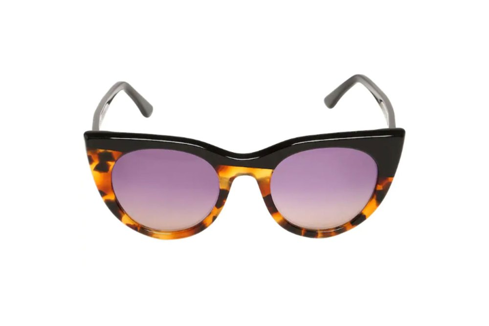BI-Colour Cat Eye Acetate Sunglasses
