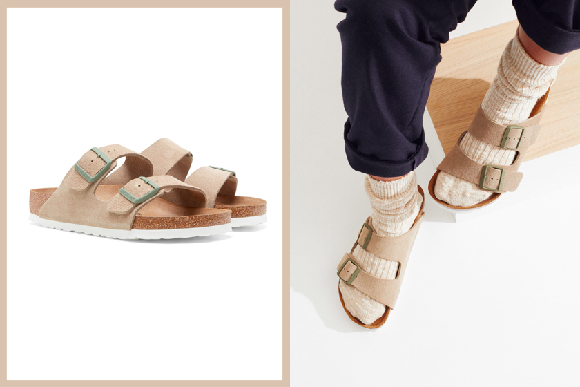 birkenstock monocle milk tea color collabration