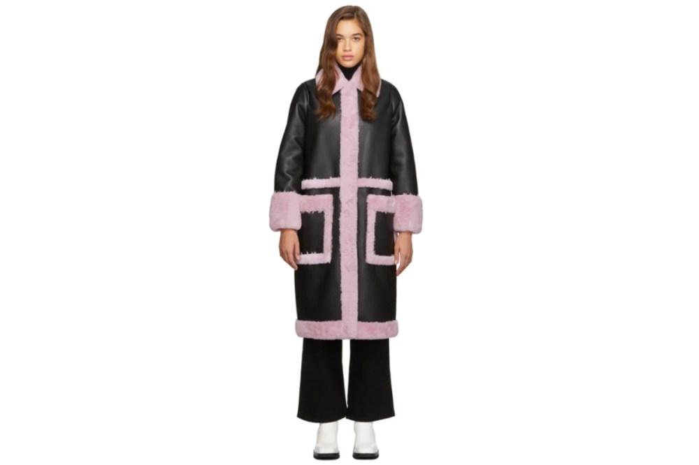 Black & Purple Riley Coat
