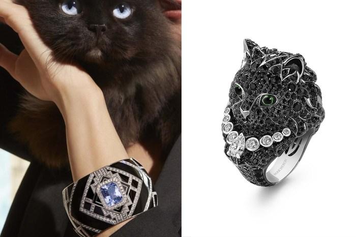 最有玩味的高級珠寶:Boucheron 推出了像真度超高的貓貓戒指!