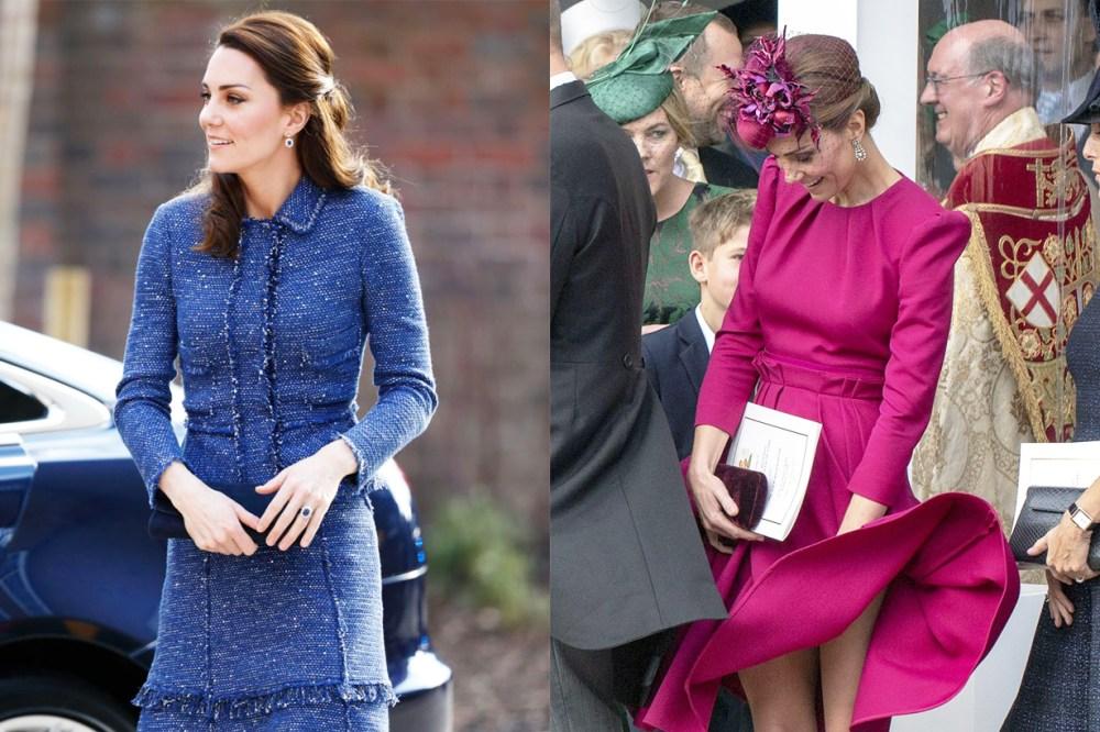 Princess Diana Kate Middleton Meghan Markle British Royal Family Fashion styling tips