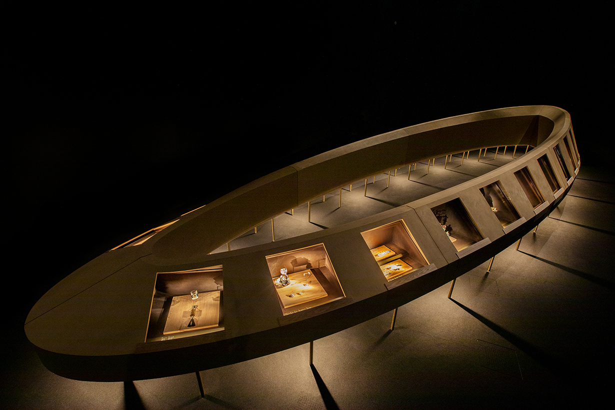 Cartier Prologue Space of Time exhibition