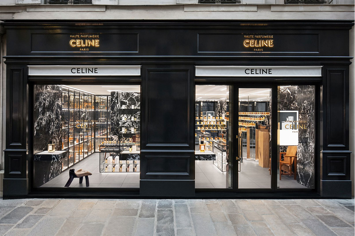 A First Look Inside Celine's New Haute Parfumerie in Paris