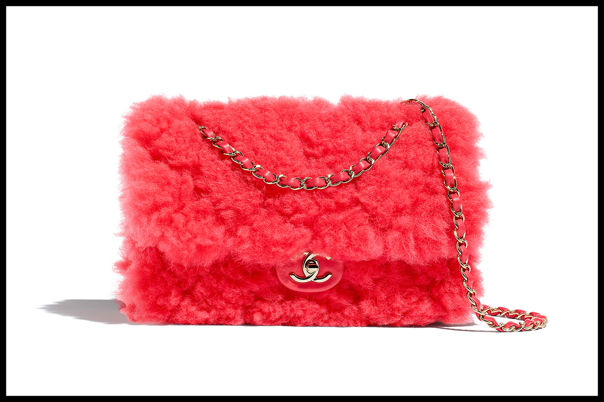 Chanel Shearling Flap Bag fall 2019