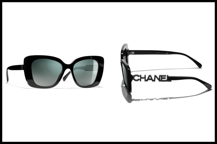 惹哄動!Chanel 太陽眼鏡系列推出 logo 文字鏡臂