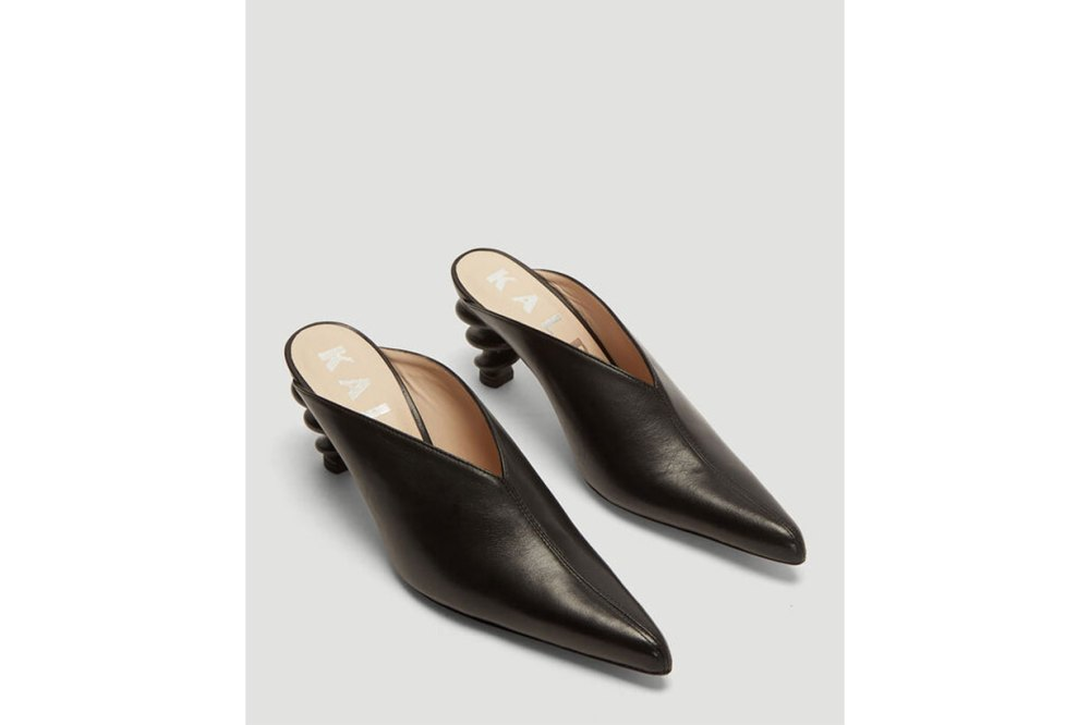Cyland Mules in Black