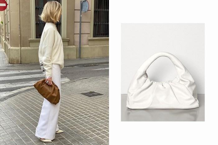 還可以肩背!Bottega Veneta 雲朵包推出改版大尺寸,又將成為下一款 It Bag?