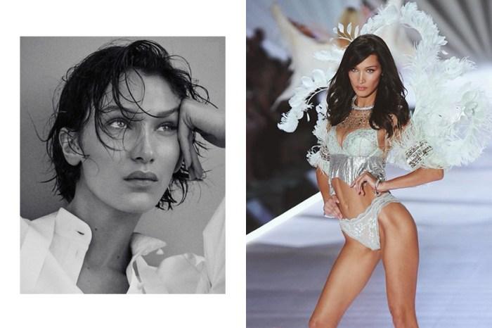 Bella Hadid 罕見吐露內心話:穿上 Victoria's Secret 內衣時感受不到性感……