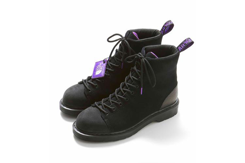 dr martens the north face 9 tie boot