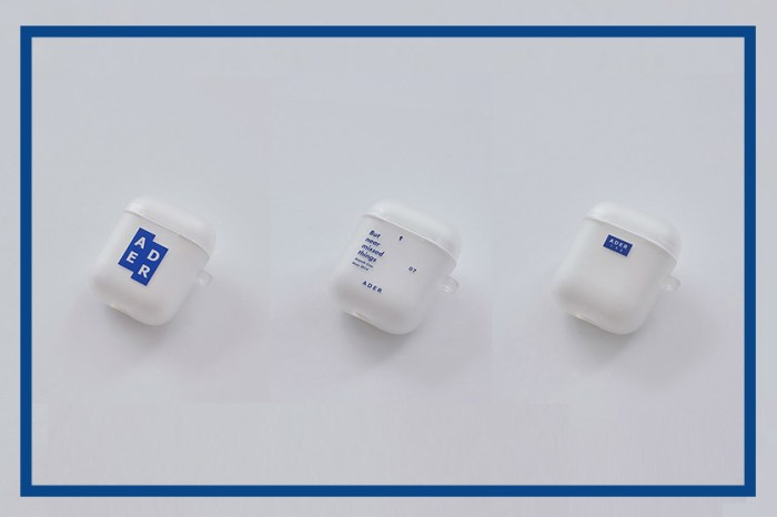 韓國品牌 Ader Error 推出 AirPods Case,簡約藍白設計成為配件新寵兒!