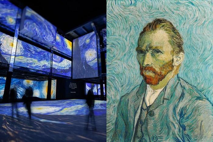 藝術迷注意:置身在大師經典畫作中,《再見梵谷,光影體驗展》即將登台!