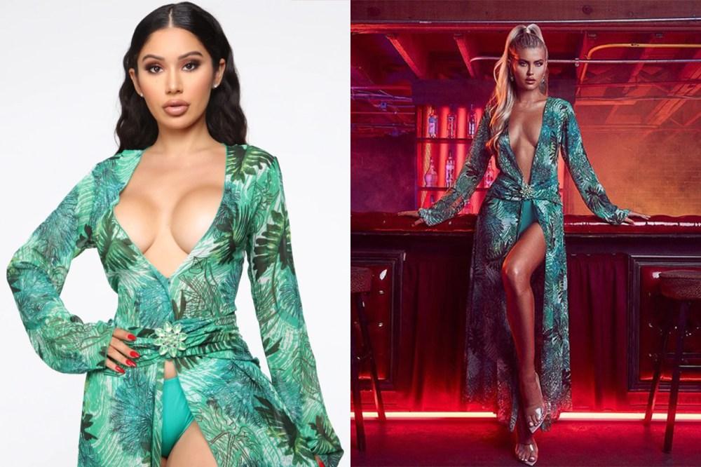 fashion nova versace