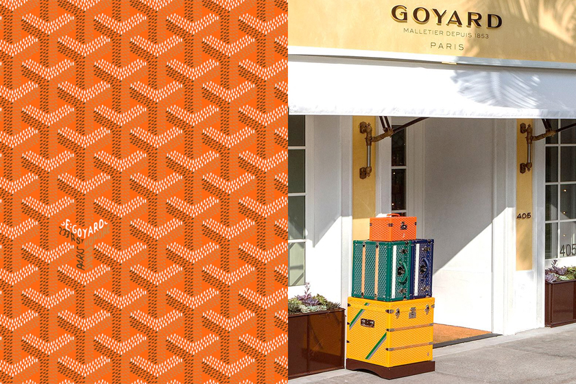 goyard y meaning behind paris pattern logo