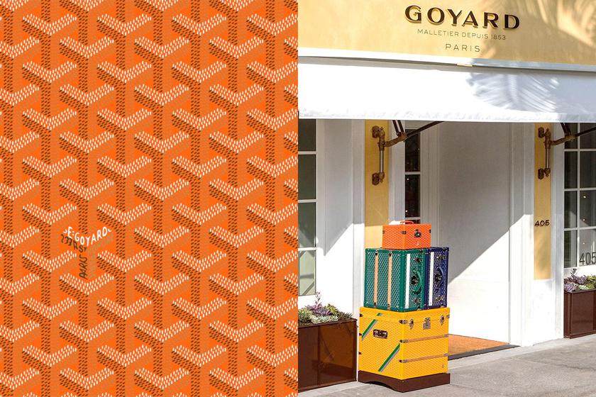 goyard y meaning behind paris pattern logo