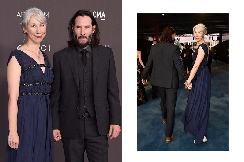 keanu Reeves girlfriend Alexandra grant