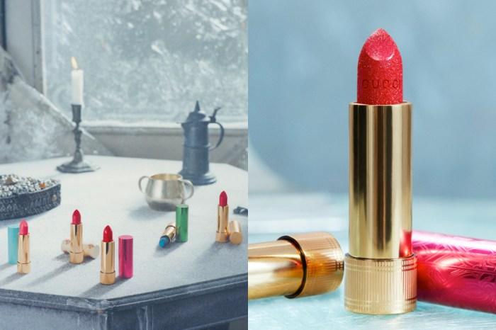 今年聖誕彩妝不容錯過:Gucci 大賣的唇膏系列,推出 2 款閃耀限量色!