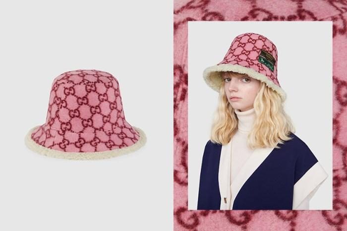 增強奢華感之選!Gucci 下一款爆紅單品將會是這頂毛毛漁夫帽!