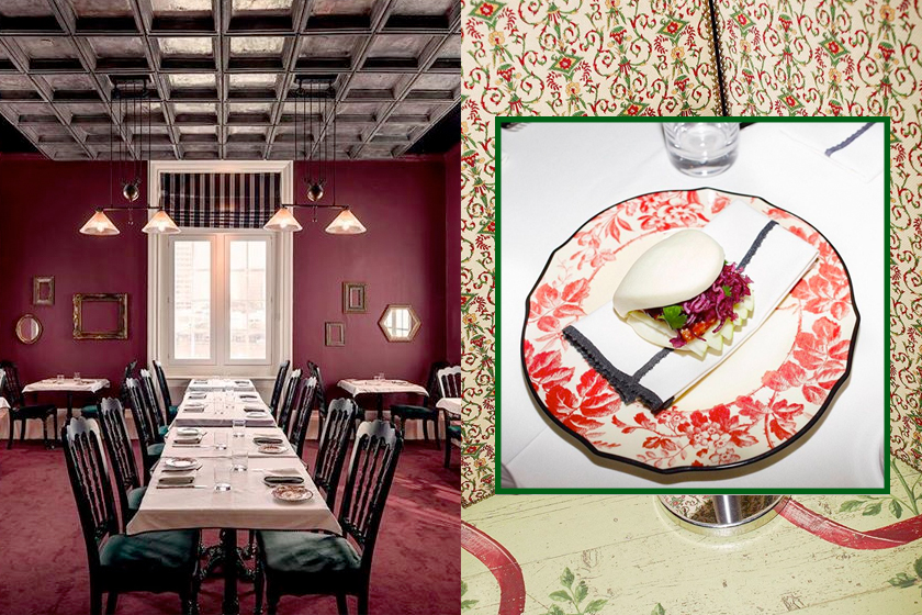 Gucci Osteria michelin one star florence