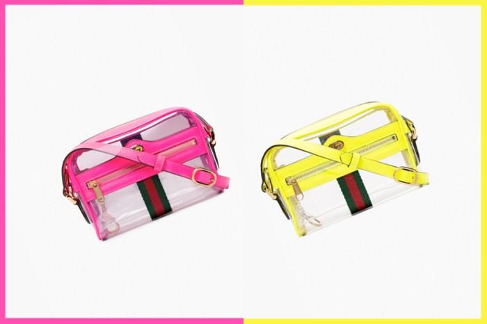 秋冬最亮眼的選擇:Gucci 的人氣 Ophdia 手袋推出了 PVC 霓虹版!