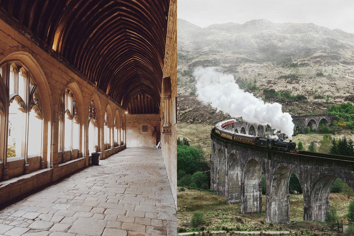 Harry Potter Locations in England and Scotland