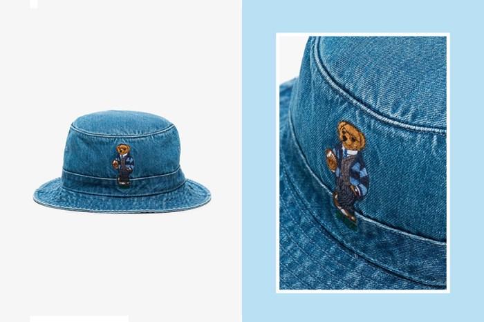 Polo Ralph Lauren 這款「小熊」丹寧漁夫帽,可愛設計引起熱烈搶購!